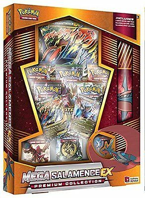 Pokemon TCG: Mega Salamence EX Premium Collection Box - New Salamence Card