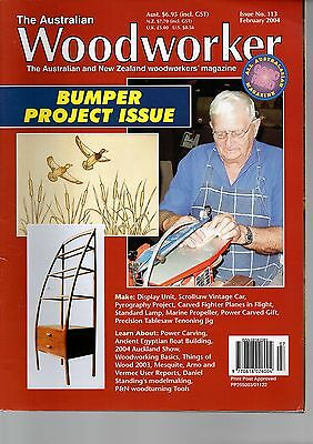 The Australian Woodworker Issue 113 February 2004