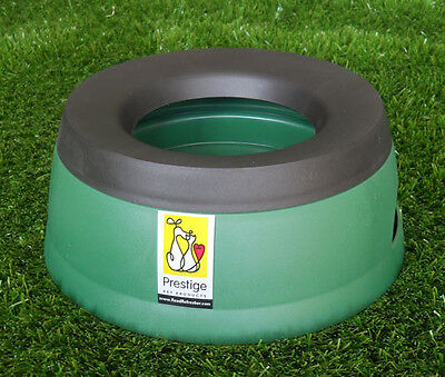 Prestige Road Refresher Non Spill Water Bowl Green Large Plastic Pet Bowl