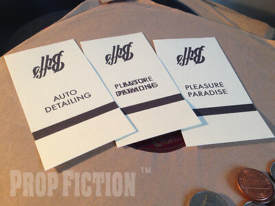 Back to the Future 2 - BTTF Set of Prop Biff's Matchbook Covers