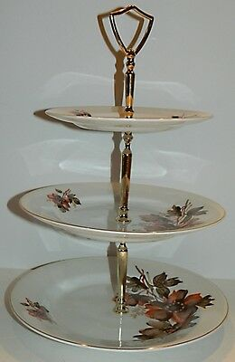 Lord Nelson Pottery WHISPER 3-Tier Cake / Pastry Stand