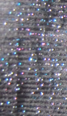 Rainbow Glitter BLACK Tights. Girls Age 6 7 8 9 10 sparkly silver lurex 40 den