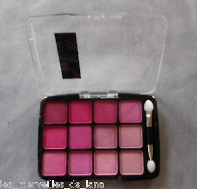 """MAQUILLAGE : OMBRES A PAUPIERES ROSES de marque BLACKSHOW """"PEACH"""" NEUF"""
