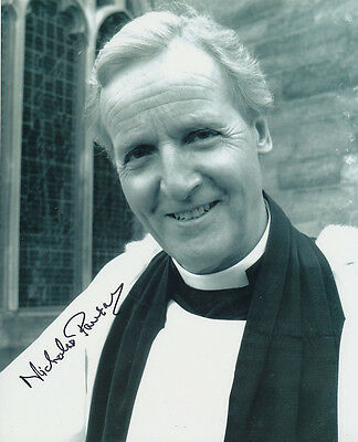 Nicholas Parsons In Person Signed Photo - B198 - Doctor Who