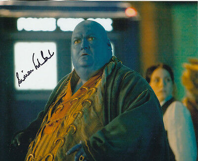 Simon Fisher-Becker In Person Signed Photo - B194 - Doctor Who