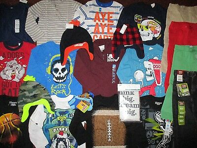 Boys Size 4 4T School Fall Winter Lot Clothes & Outfits Old Navy TCP Gap   NWT'S