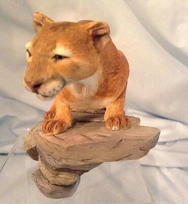 "Country Artists Mountain Lion 2005  Retired  CA04317  4""  Resin Figurine  $47.99"