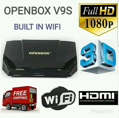 Flash Sale Openbox V9S Satelite Receiver + 36 Months Warranty Gift Plug And Play