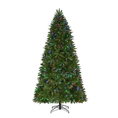 9 ft. Pre-Lit LED Quick-Set Artificial Christmas Tree with Changing Lights