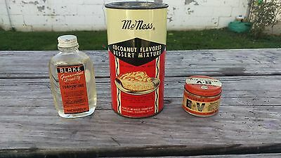 Vintage Kitchen Advertising Food Containers