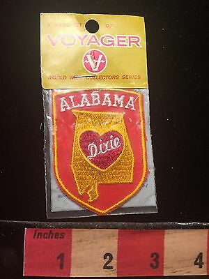 Alabama Heart Of Dixie Patch Voyager Brand World Wide Collectors Series 60Y1