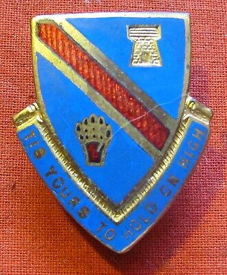 WW2 US ARMY 372nd INFANTRY REGIMENT DI CREST