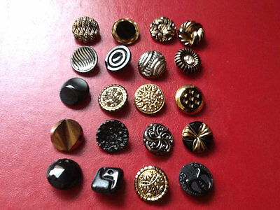 Vintage Glass Buttons,great Lot,number 4.
