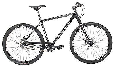 """Cannondale Trail Single Speed Fixie Gear Bike Bicycle 29"""" Black"""