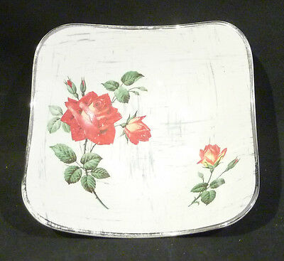 Midwinter Stylecraft Bowl, RED ROSES, FASHION SHAPE 10-61 14 cm diameter