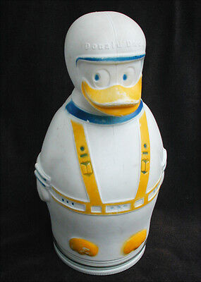 Vintage Puppets Donald Duck cereal container Nabisco coin bank