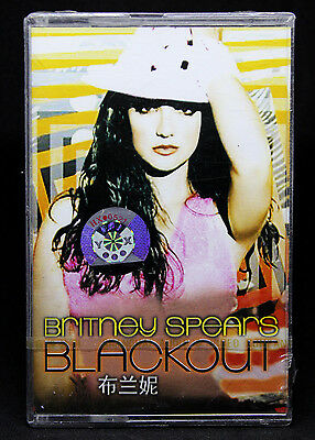 Britney Spears - BLACKOUT Cassette BMG Taiwan NEW & SEALED