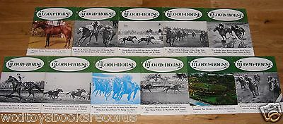 Vintage 1970 Blood Horse Thoroughbred Racing Magazine Lot Kentucky Derby Habitat