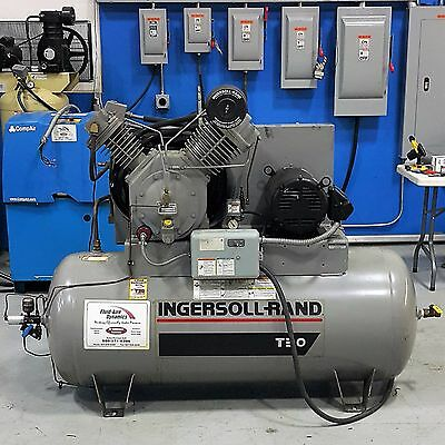Used Ingersoll Rand 10 HP Reciprocating Piston Air Compressor
