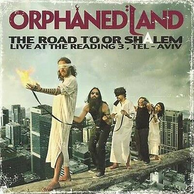 """Orphaned Land """"The Road To Or-Shalem"""" 2x12"""" Yellow Vinyl"""