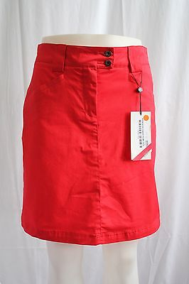 New With Tags Cross Sportswear Amy Golf Skort In Red