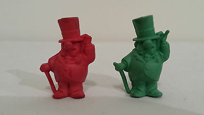 Vintage 1971 W.C. Fields Green & Red Pencil Top Eraser Frito Lay