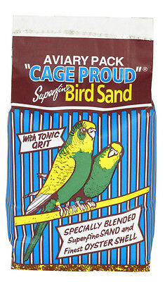 Pettex Aviary Bird Sand Cage Proud 20kg Bird Litters Grits & Sands