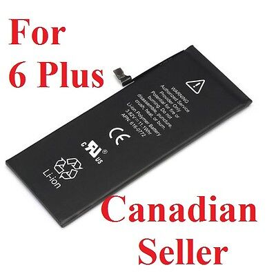 New 2915mAh Li-ion Internal Battery Replacement w/ Flex Cable for iPhone 6 Plus