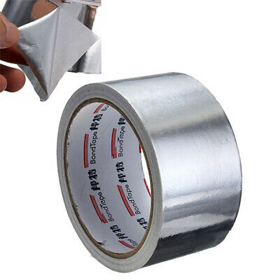 Roll Silver Aluminium Foil Adhesive Sealing Tape Heating Duct Repairs 17m x 5cm