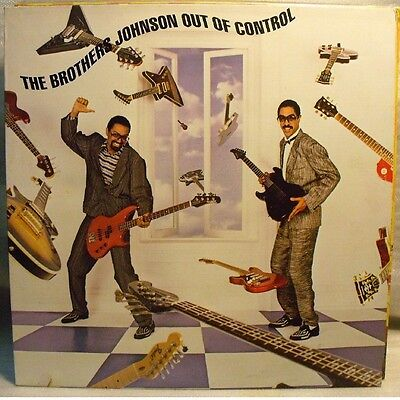 THE BROTHERS JOHNSON - OUT OF CONTROL - LP MINT Unplayed
