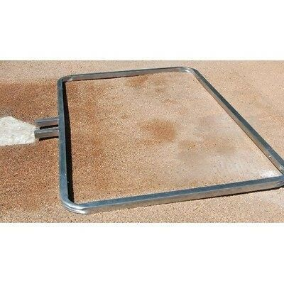 Trigon Sports Procage Baseball Batters Box Template, 4 x 6-Feet