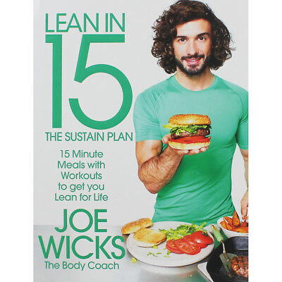 Lean in 15 - The Sustain Plan by Joe Wicks (Paperback), Non Fiction Books, New