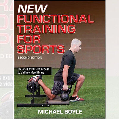 New Functional Training for Sports Book By Michael Boyle, NEW Paperback