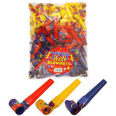 Party Jazzy Blow Outs Blowouts Loot Bag Favours Pinnata Fillers Toys Goody Party