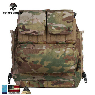 Emerson Molle Back Pack By Zip Panel FOR Plate Carrier JPC2.0 AVS CPC MC CB 9286