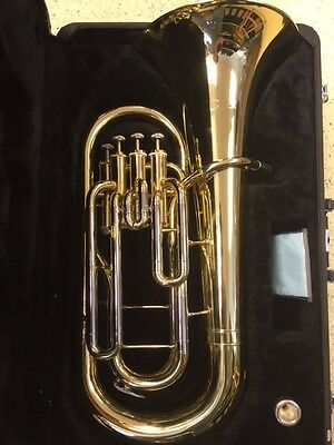 Jupiter JEP-470 4 Valve Euphonium with Hard Case and Mouth Piece