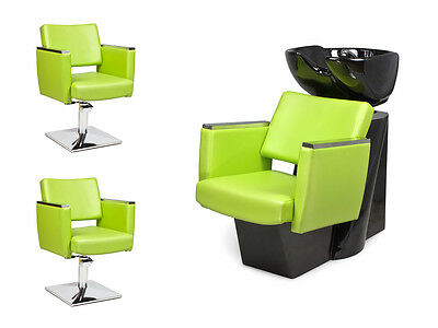 SALON HAIRDRESSING FURNITURE SETS  Backwash Styling Chairs CASTANTO!