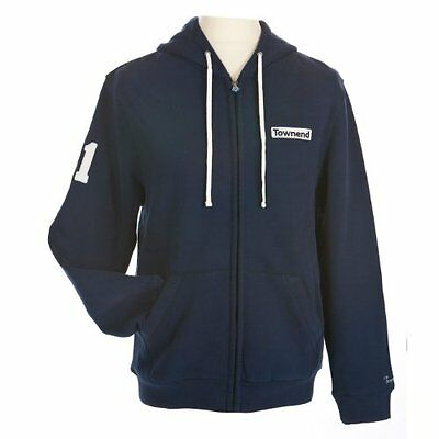 Townend Stormin Ribbed Zip Hoodie - Navy - Large - Horse Hoods & Neck Covers