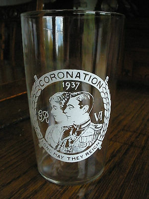 George VI 1937 Coronation beer glass, New Chandos Pub, Colindale London