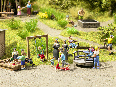 Noch Laser Cut Minis Play Equipment 14368 HO Scale (Suit OO also)