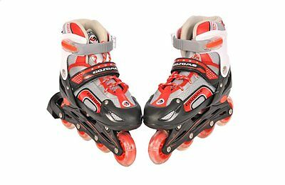 Children Size Adjustable Inline Skates Skating Roller Blades Boots Boy Girl New