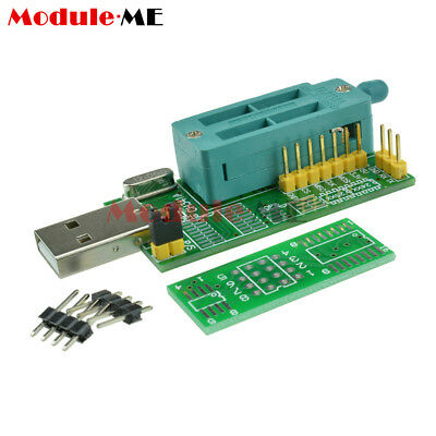 Multifunction CH341A Router USB Programmer LCD Burner Bios Board 24 25 Series UK