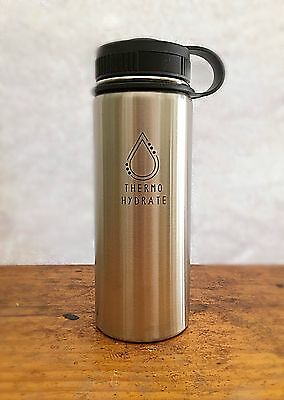 Thermo Hydrate Hydro Flask  Double Vacuum Insulate 24hr Cold Drinks! 12hrs Hot!