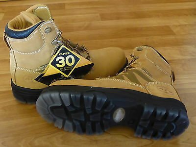 Oliver Safety Work Boots 45632C Wheat Size:10.5