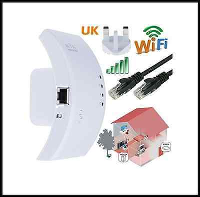 Wifi Broadband Router Booster Wireless Repeater Extender 300mbps Signal Internet