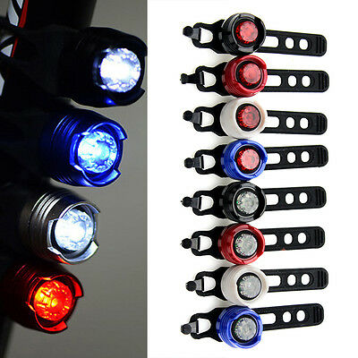 Best New Bicycle Sports Red LED Rear Light 3 Modes Waterproof Bike Tail Lamp
