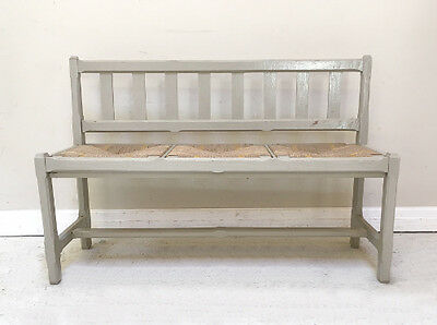 Rustic Old French 3 Seater Bench