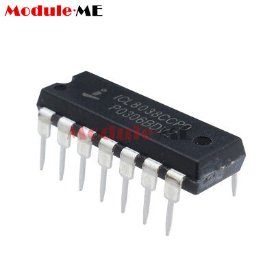 New 5PCS ICL8038  ICL8038CCPD Waveform Generator IC DIP-14 INTERSIL MO