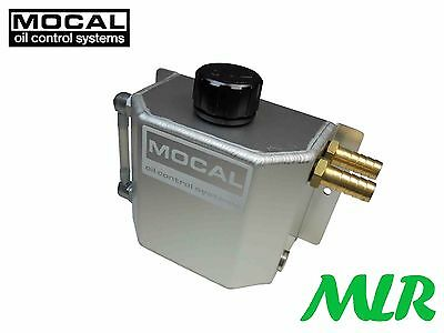 Mocal CT3 1 Litre Alloy Oil Catch Tank/Engine Breather Tank Left or Right Inlets