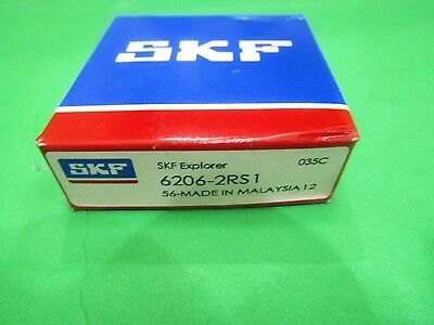 6206-2RS SKF Ball Bearing 6206 2RS1 30x62x16 mm